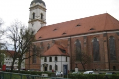 Blick auf den Dom von Fürstenwalde